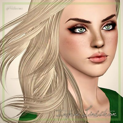 Sims 15 Updates - Praline Sims : 15 Models - Blonde Brunette by ...