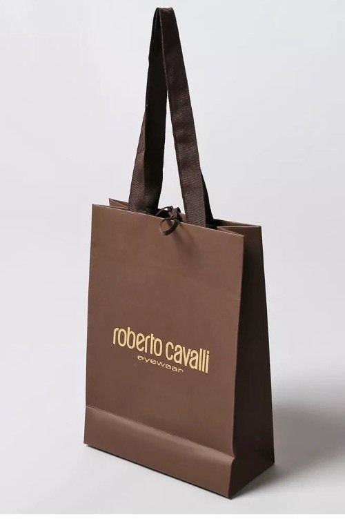 dd2a70266b Authentic Roberto Cavalli Brown Paper Gift Bag (2 Bags Per Order)   RobertoCavalli  AnyOccasion