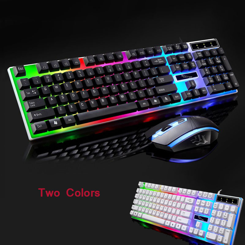Led Rainbow Gaming Keyboard Mouse Set Mechanical Keyboard Backlight For Ps4 Xbox Gaming Keyboard Ideas Of Gaming Keyboar Keyboard Mechanic Rubber Keyboard