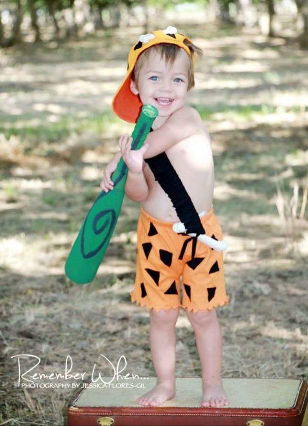 Liam's second birthday! Flintstone theme