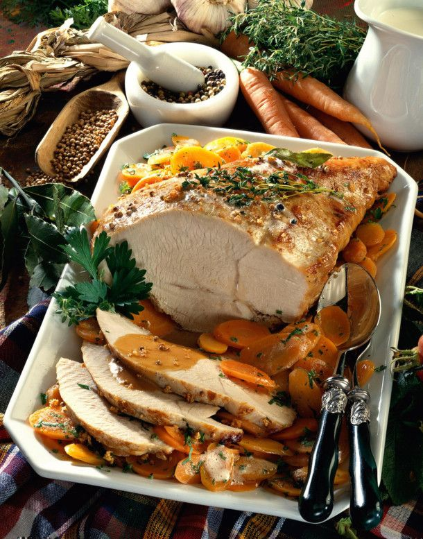 Photo of Turkey Breast with Carrot Vegetables Recipe DELICIOUS