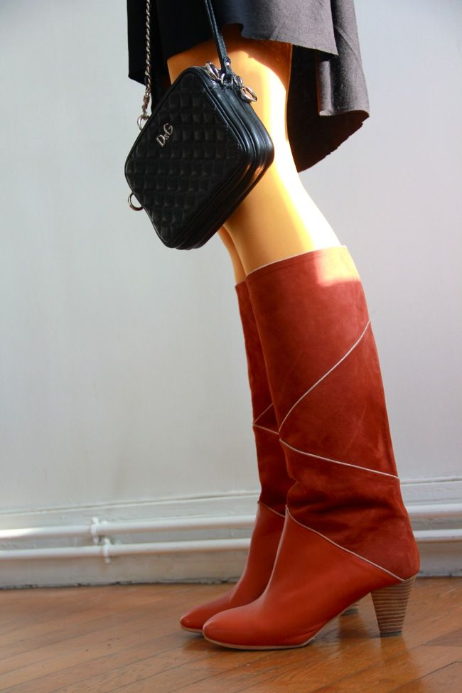 bottes patricia blanchet | Bottes vintage, Chaussure mode et