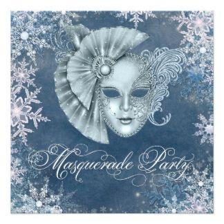 winter wonderland party invites