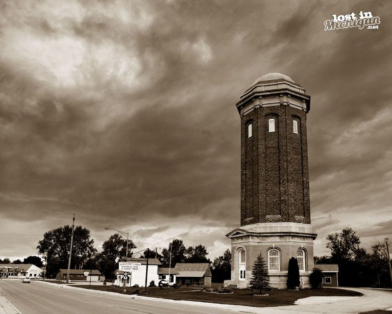 Manistique Water Tower And Pumping Station Manistique Water Tower Tower