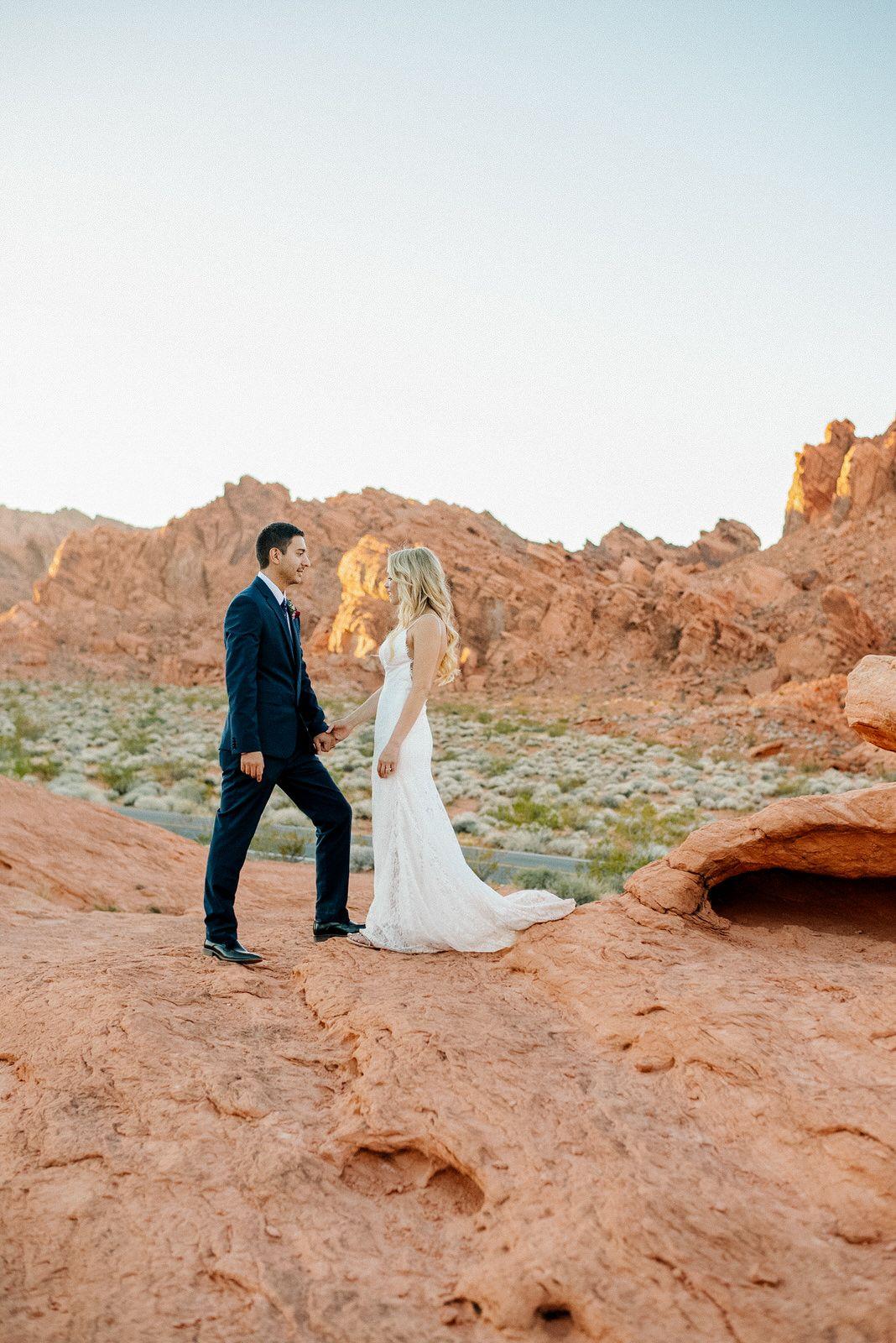Valley Of Fire Nevada Wedding