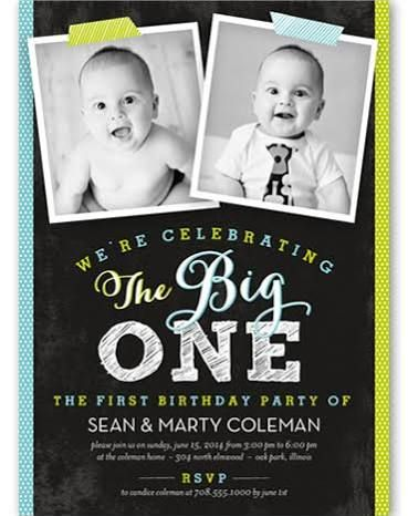 ideas for twins first birthday twins first birthday in 2018