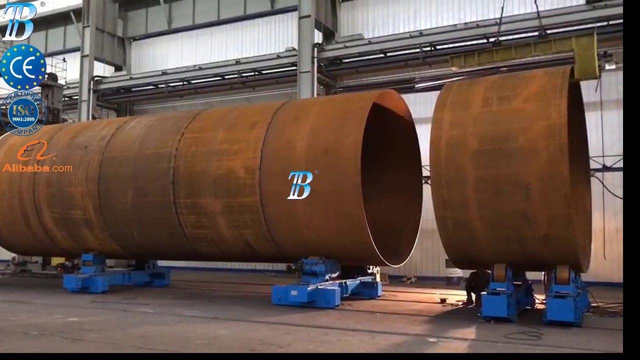 How It S Made Wind Turbine Tower Steel Fabrication Welding Positioner Welding Equipment