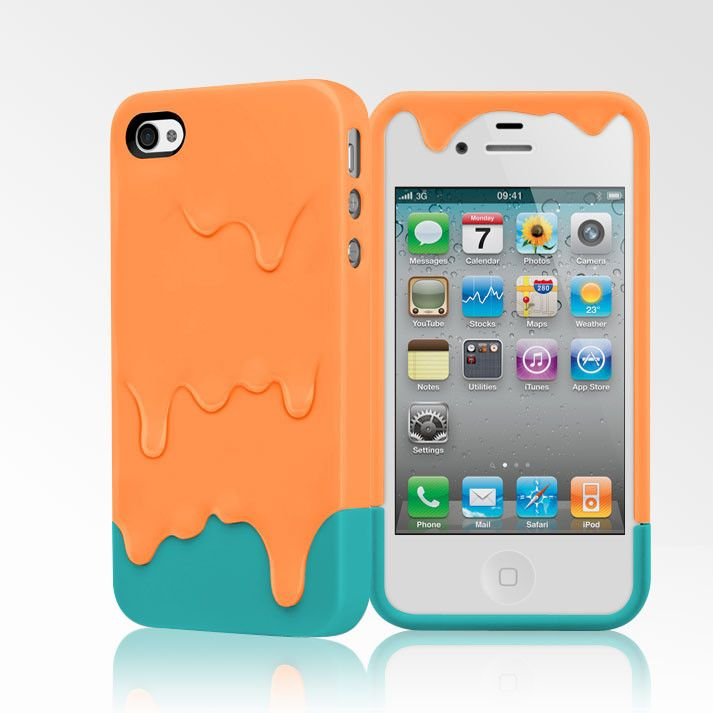Sweet looking cute little Melt Case for iPhone 4/4S