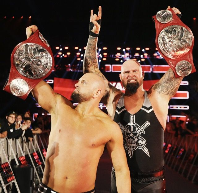 Resultado de imagen para Gallows Anderson raw tag team champions