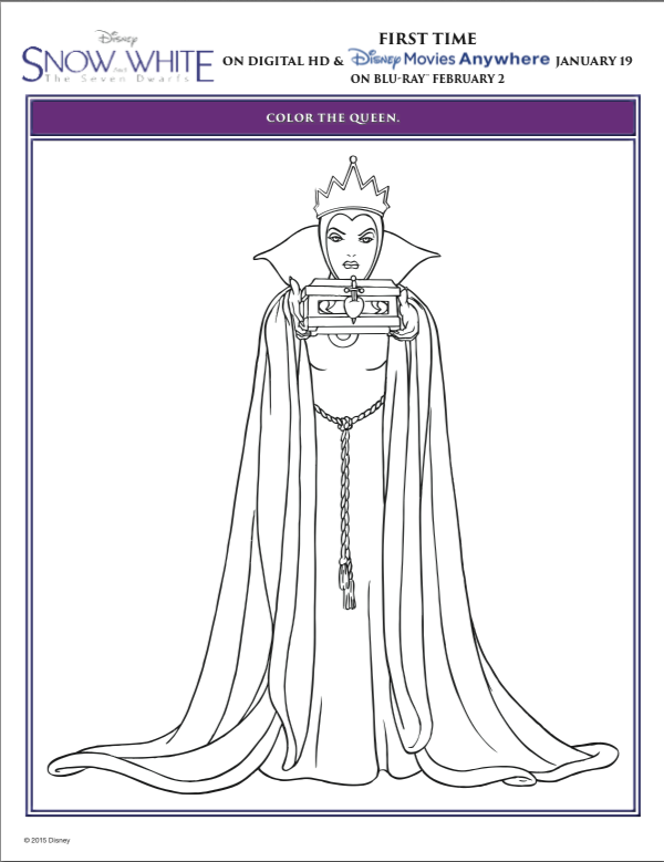 Disney coloring page | Snow white coloring pages, Disney princess ... | 779x600