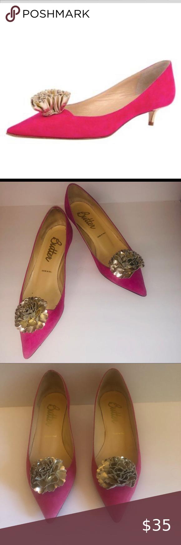 Super Cute Preppy Butter Pink Kitten Heel Shoes In 2020 Pink Kitten Heels Kitten Heel Shoes Gold Kitten Heels
