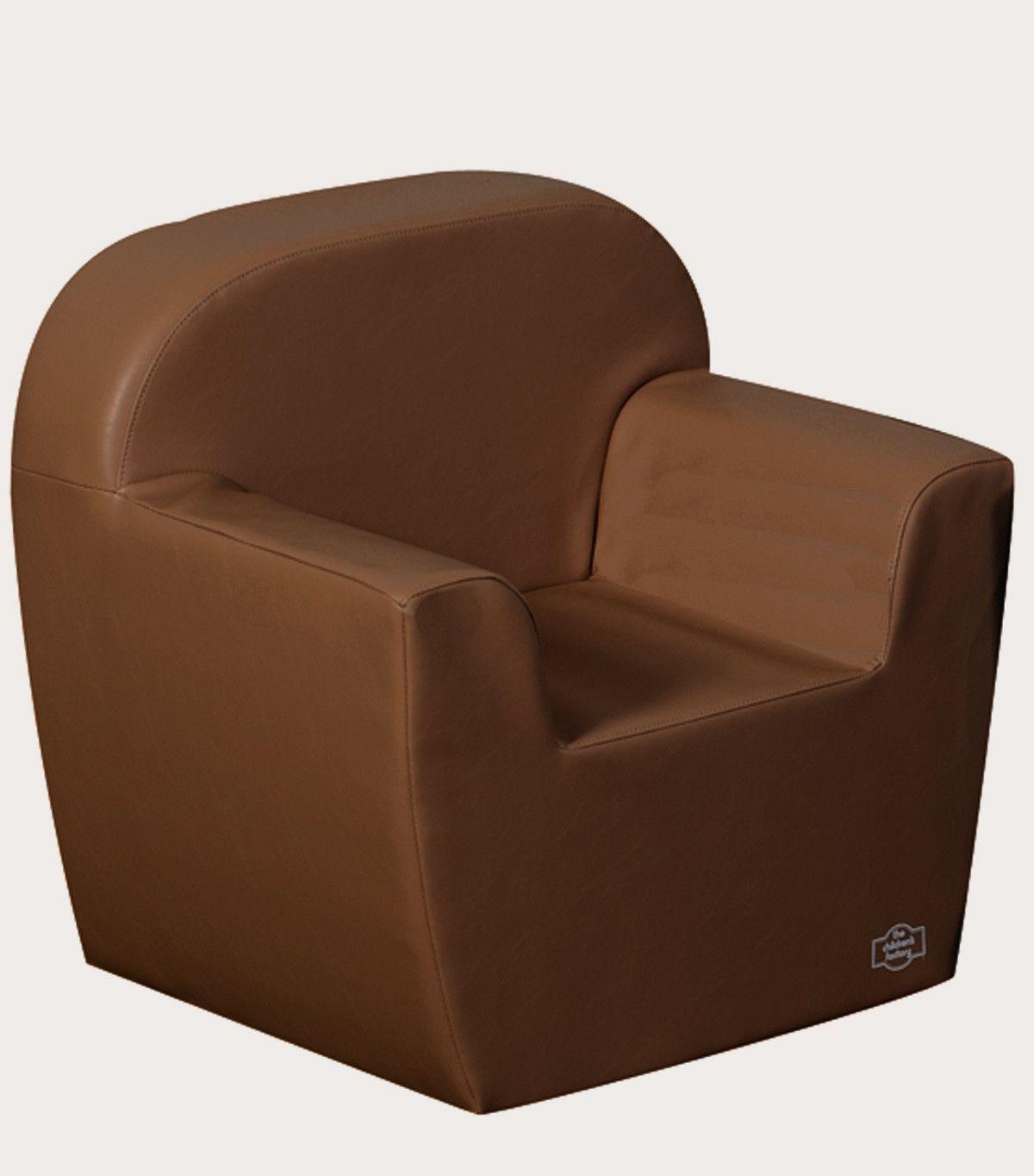 CF705-594 Club Chair - Dark Walnut Brown