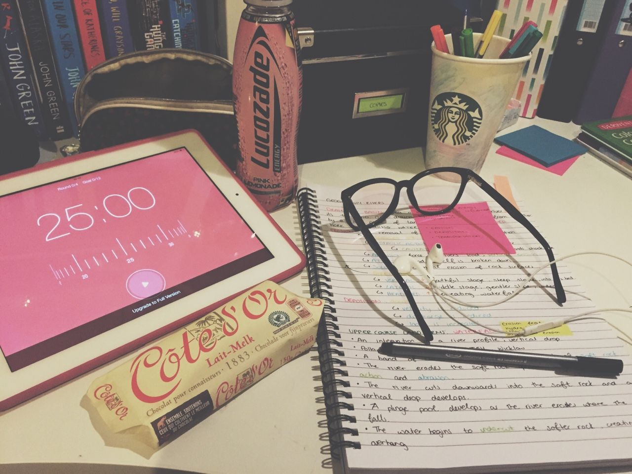 Late Night Study Essentials