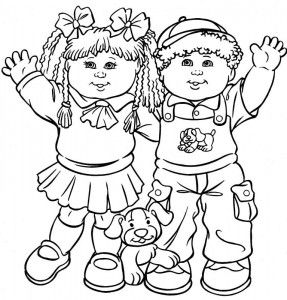 Cabbage Patch Kids Coloring Pages Gallery Of Cars Coloring Pages