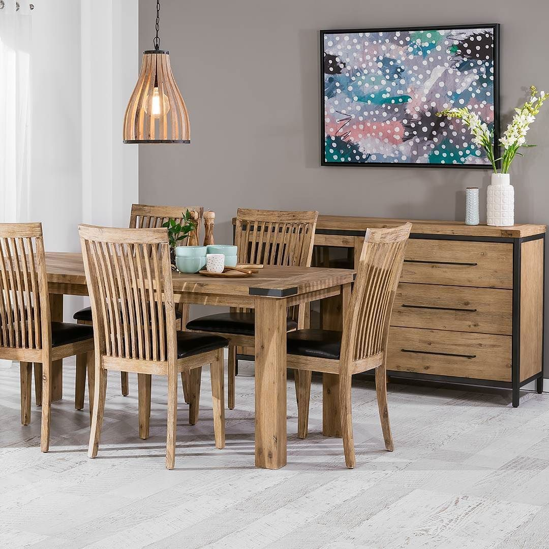 Indiana Dining Table Super Amart Dining Suites Dining