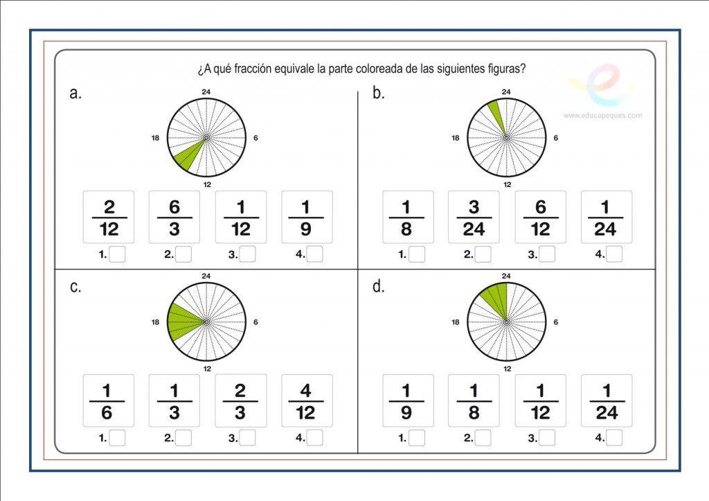 Fracciones Suma Resta Multiplicacion Y Division De Fracciones Fracciones Matematicas Fracciones Fraccionarios