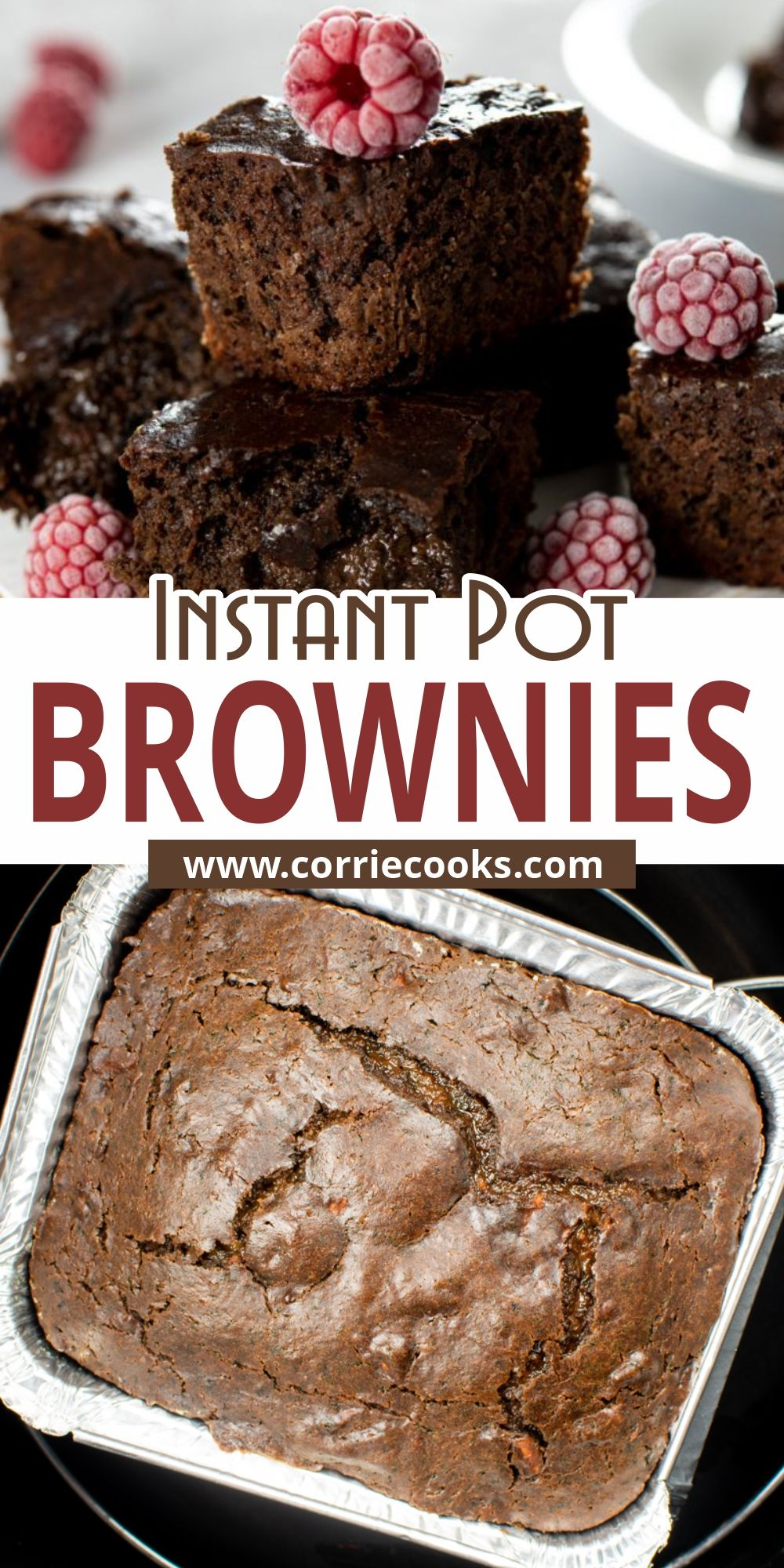 Instant Pot Brownies Recipe In 2021 Instant Pot Recipes Chocolate Recipes Pot Brownie