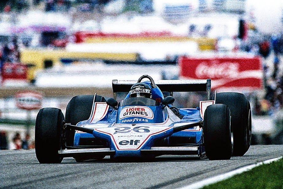 Jacques-Henri Laffite (FRA) (Ligier Gitanes), Ligier JS11 - Ford-Cosworth DFV 3.0 V8 (finished 3rd) 1979 Austrian Grand Prix, Österreichring