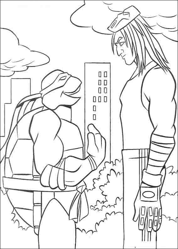 Dibujos para Colorear Tortugas Ninja 49 | Casitas niños | Pinterest ...