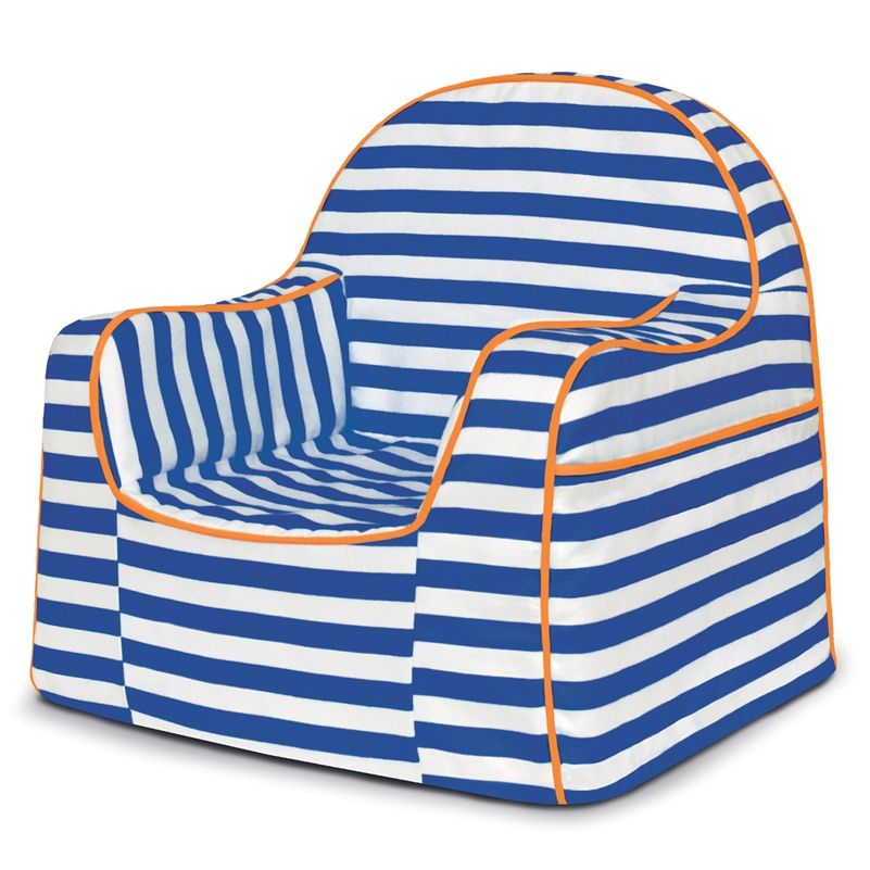 NEW Pu0027kolino Little Reader Toddler Chair   Blue Stripes. 8 Fabulous  Patterns And
