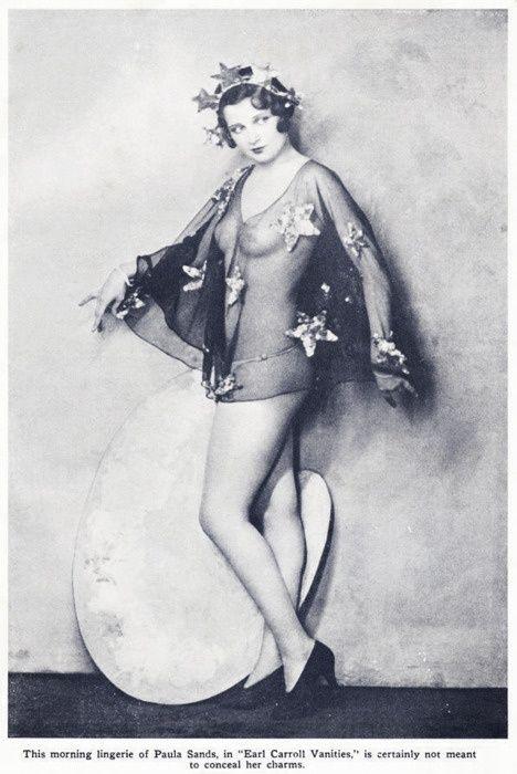 """Paula Sands 1930's in the """"Earl Carrolls Vanities"""""""