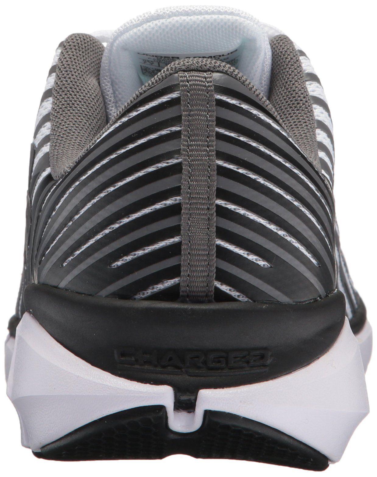 6c1bb94e5d416 Under Armour Boys Grade School X Level Scramjet Remix Athletic Shoe White  102 Graphite 4