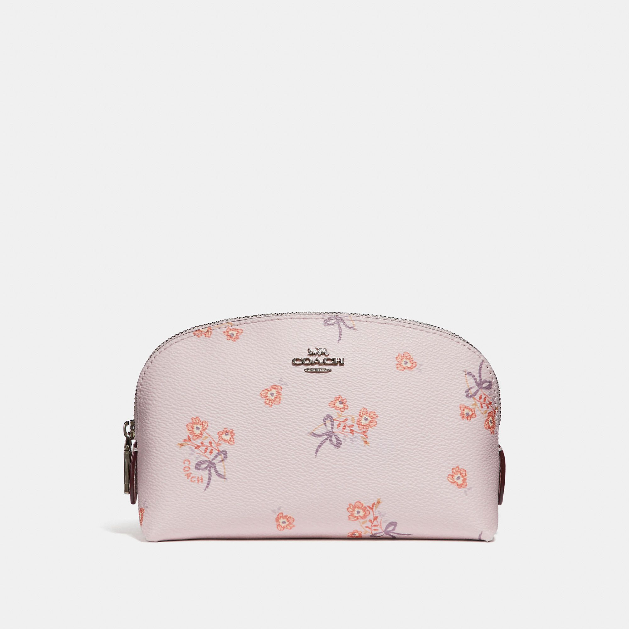 38f768dd6c134c Cosmetic case 17 with floral bow print in 2019 | Products | Cosmetic ...