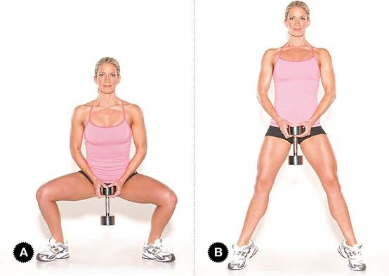 Image result for Plie Squats
