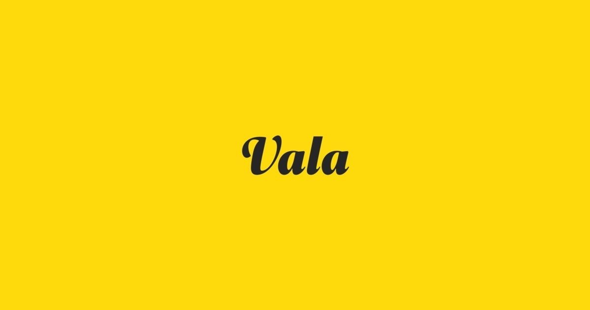 Vala Is A Typeface Designed By Oscar Guerrero And Is Available For Desktop Web Digitalads App Epub And Server T Typeface Design Beautiful Fonts Typeface