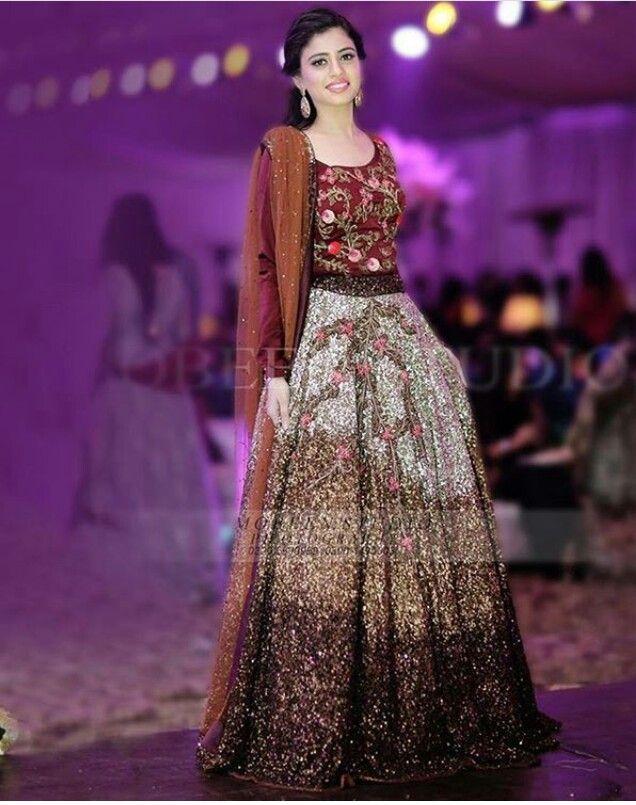 cocktail #dress by #Pakistani #designer #brand #Divani. #lehnga ...