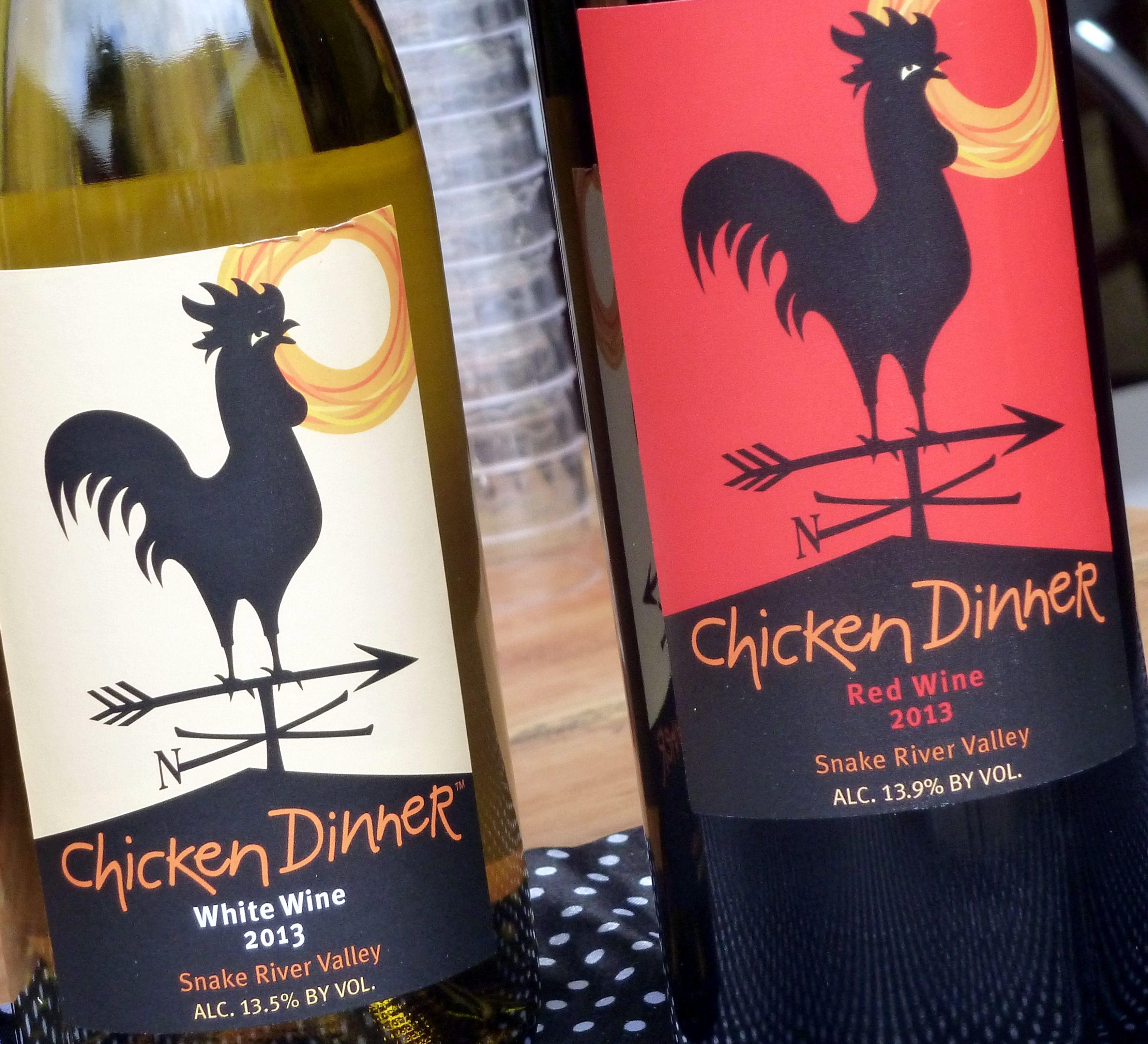Huston Chicken Dinner Wine Wine Snake River Valley Wines