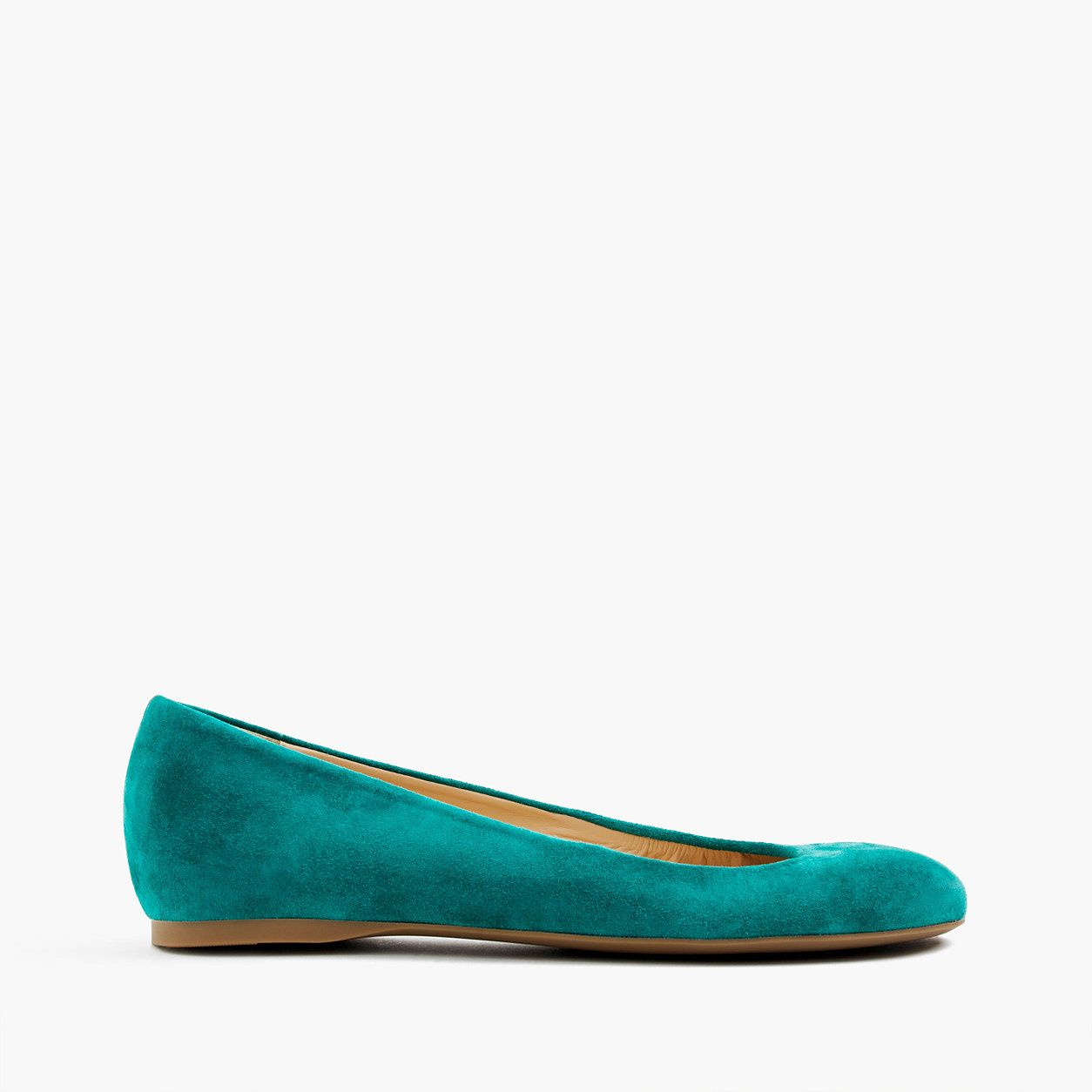 81b81fac809c J.Crew Womens Cece Italian-Made Ballet Flats In Suede (Size 5 M ...
