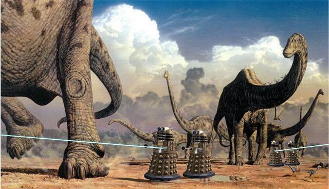 Mark Witton.com Blog: What Daleks, xenomorphs and slasher movies tell us about palaeoart