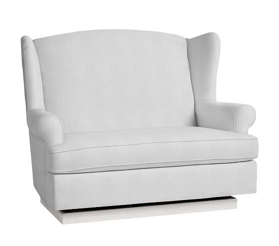 Wingback Gliding Settee Pottery Barn Kids Kids Toddler
