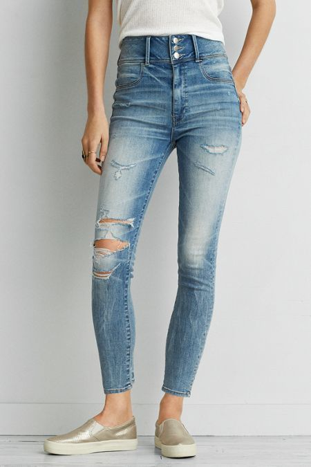 06658facd3951 American Eagle Outfitters AEO Denim X Super Hi-Rise Jegging (Jeans ...