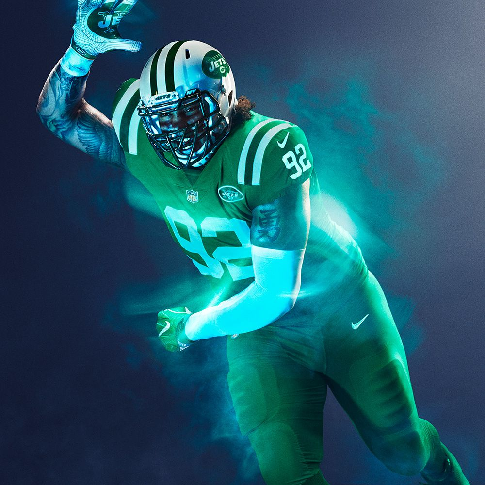 d98355c5079 New York Jets : NFL Color Rush uniforms for 2016 Thursday night games photos