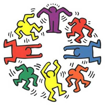 Keith Haring Dancers | {art} Keith Haring | Pinterest | Keith ...