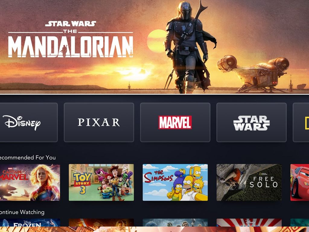 Xbox One's Disney+ app is now online and available to