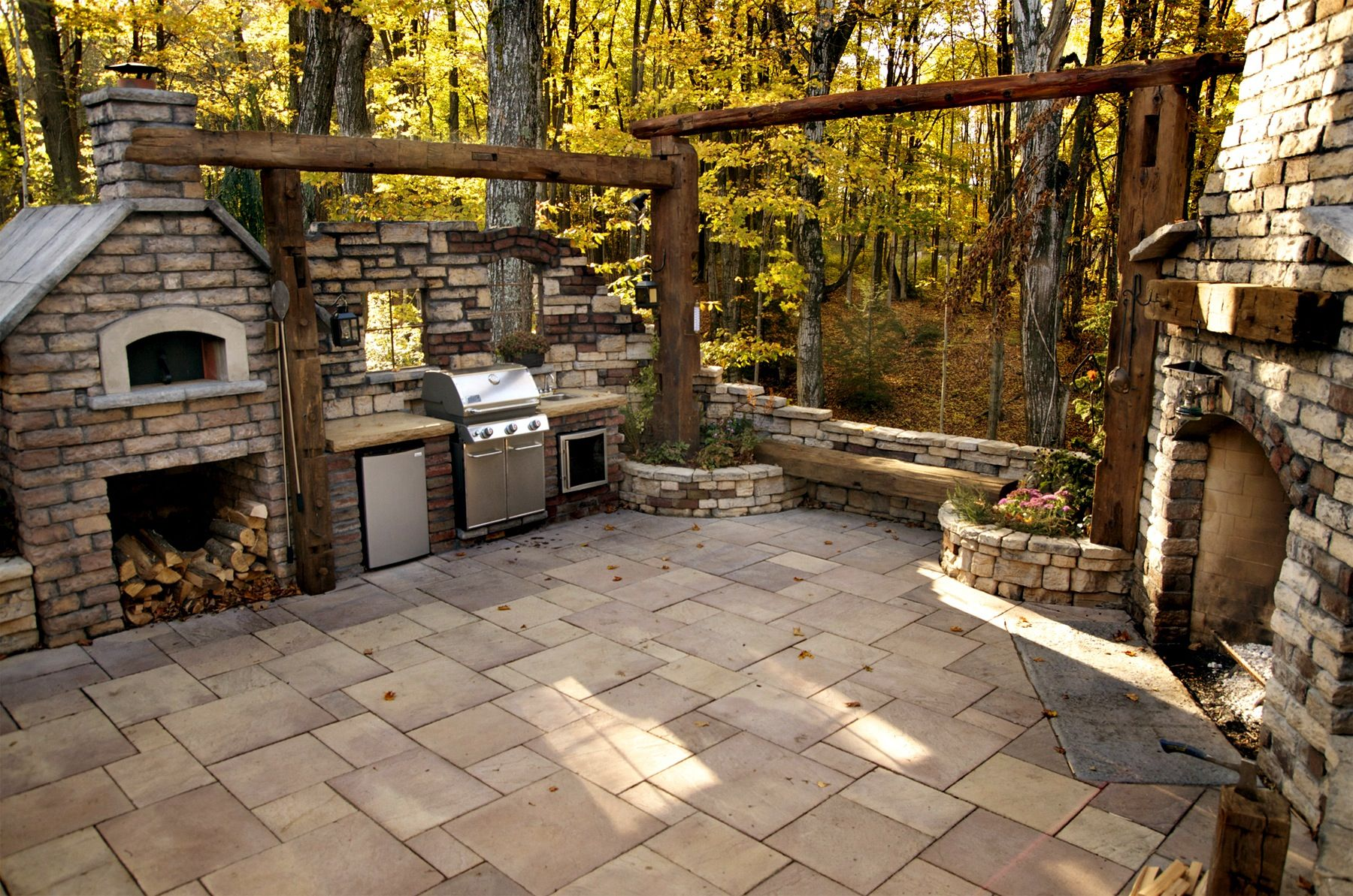 rosetta pizza oven rosetta fireplace and pavers landscaping