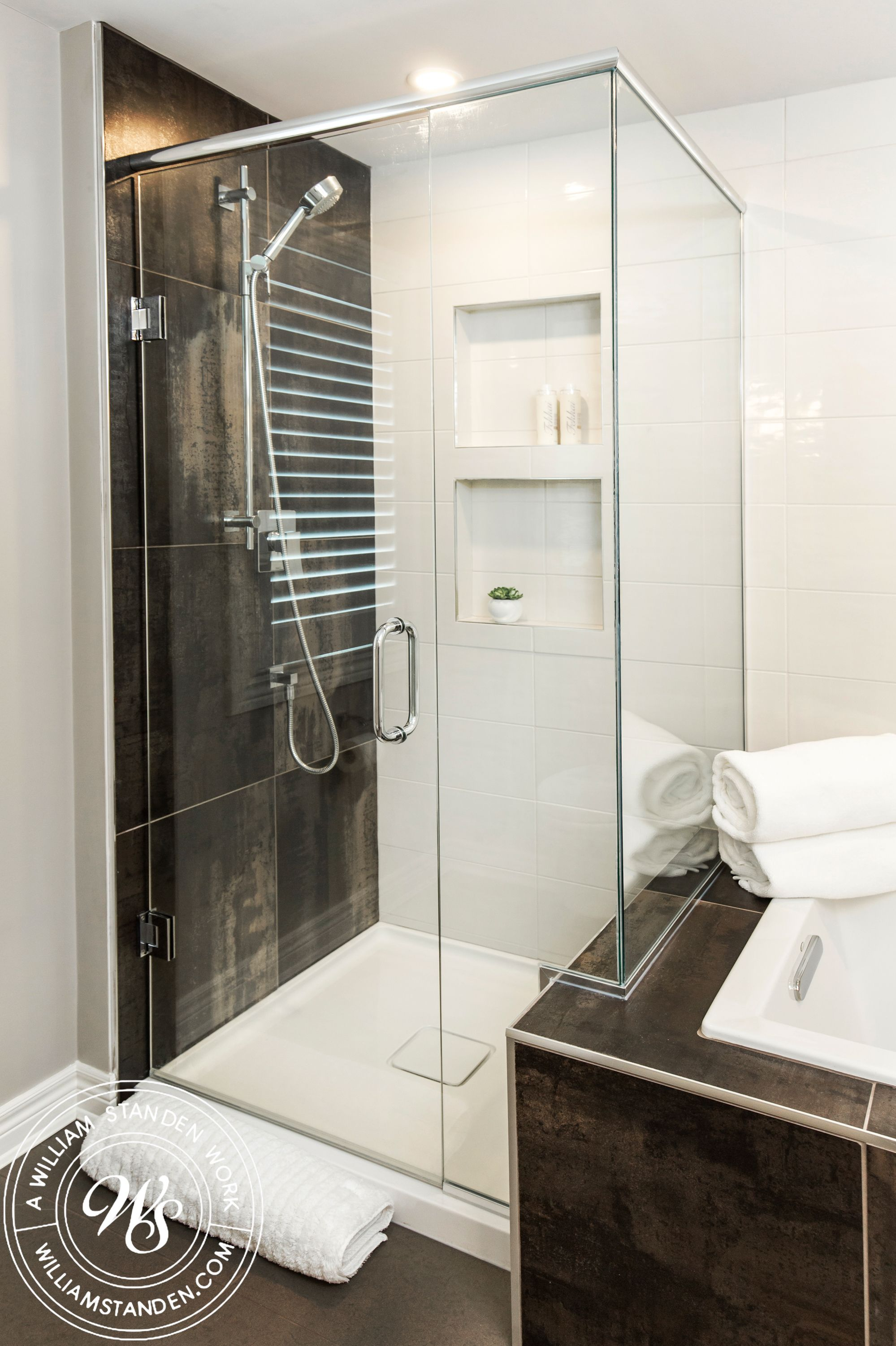 Pin by William Standen Co. on Custom Showers | Custom ...