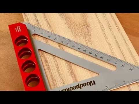 Woodpeckers Pocket Compass Pocket Compass Xl Retired Onetime Tool Youtube