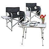 Amazon Mobel Allgemein Camping Mobel Set 1x Tisch Bali 2x