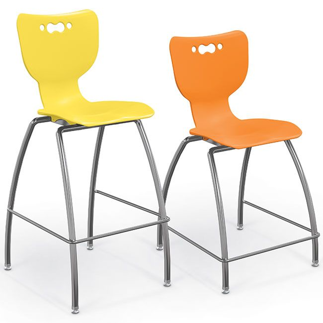 Awesome All Hierarchy 4 Leg School Stools By Balt Options Chairs Theyellowbook Wood Chair Design Ideas Theyellowbookinfo