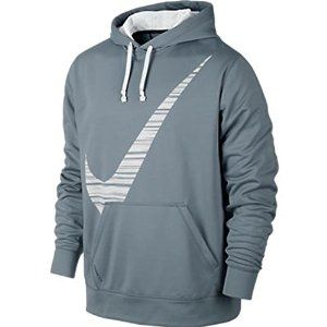 Amazon.com: Nike Men's Therma-Fit KO Blur Swoosh Pullover Training Hoodie-