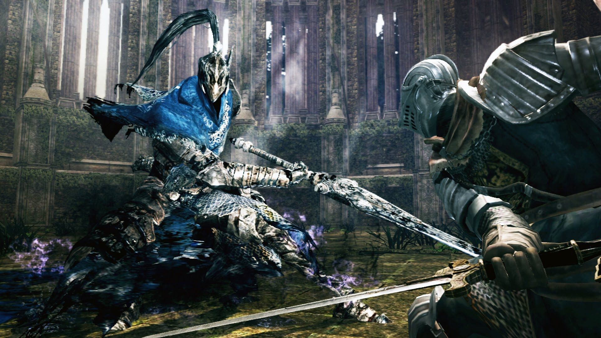 Dark Souls Knight Artorias Boss Fight 4k 60fps Dark Souls