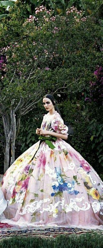❀ Flower Maiden Fantasy ❀ beautiful art fashion photography of women and flowers - Dolce  Gabbana