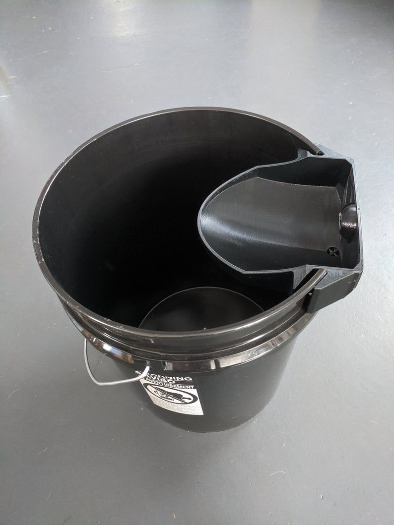 Photo of DIY Compost Toilet Urine Diverter and Vent Attachment   Etsy
