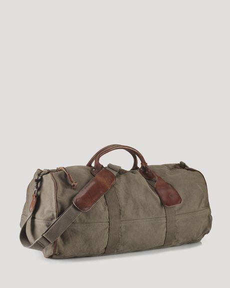 39ccd144d9 Ralph Lauren Polo Canvas Bedford Duffle Bag in Green for Men (dark loden) -  Lyst