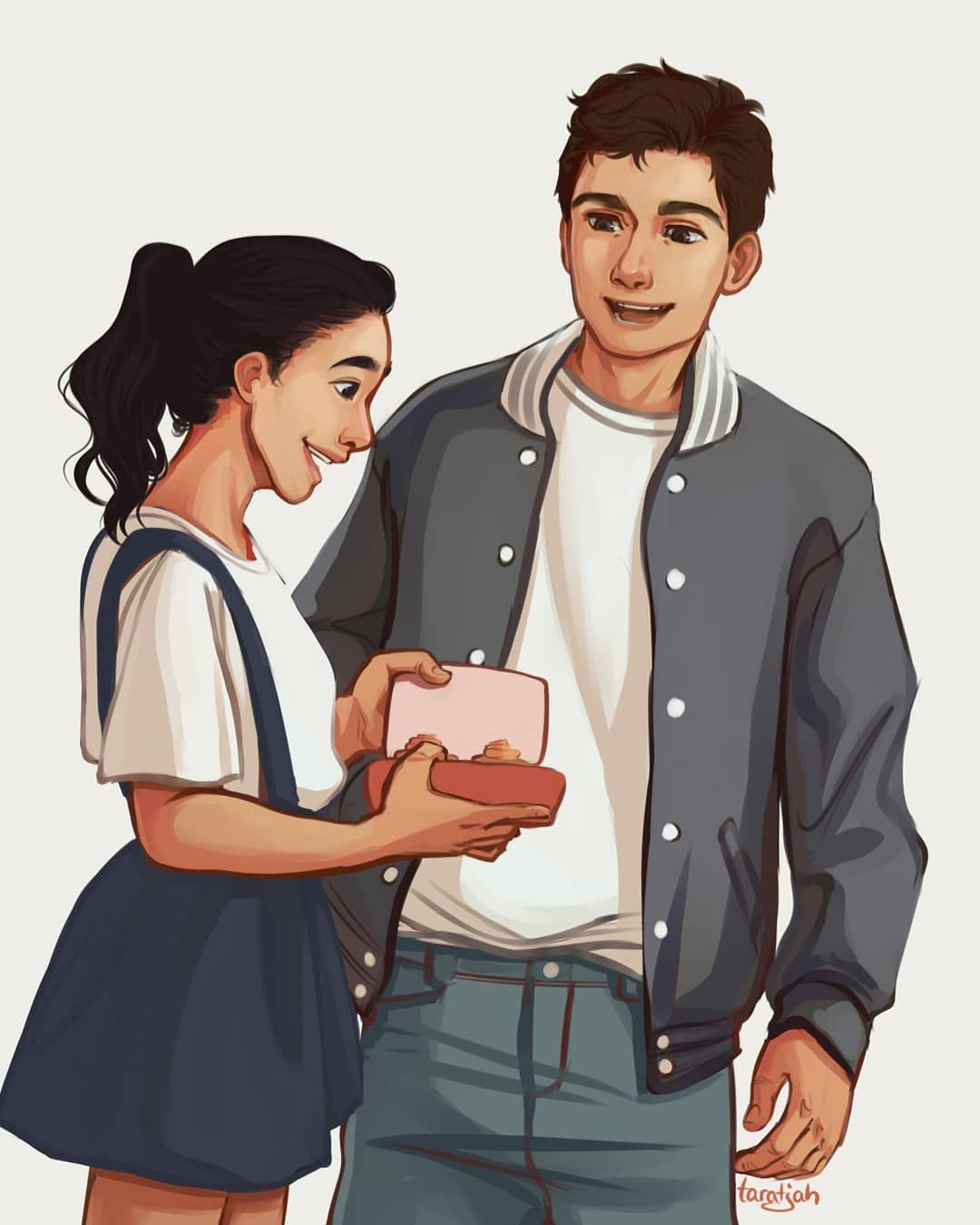 To All The Boys I Ve Loved Before Won This Month S Poll On My Patreon So Here Are Lara Jean And Peter Toalltheboysivelovedbef Lara Jean Boys Peter K