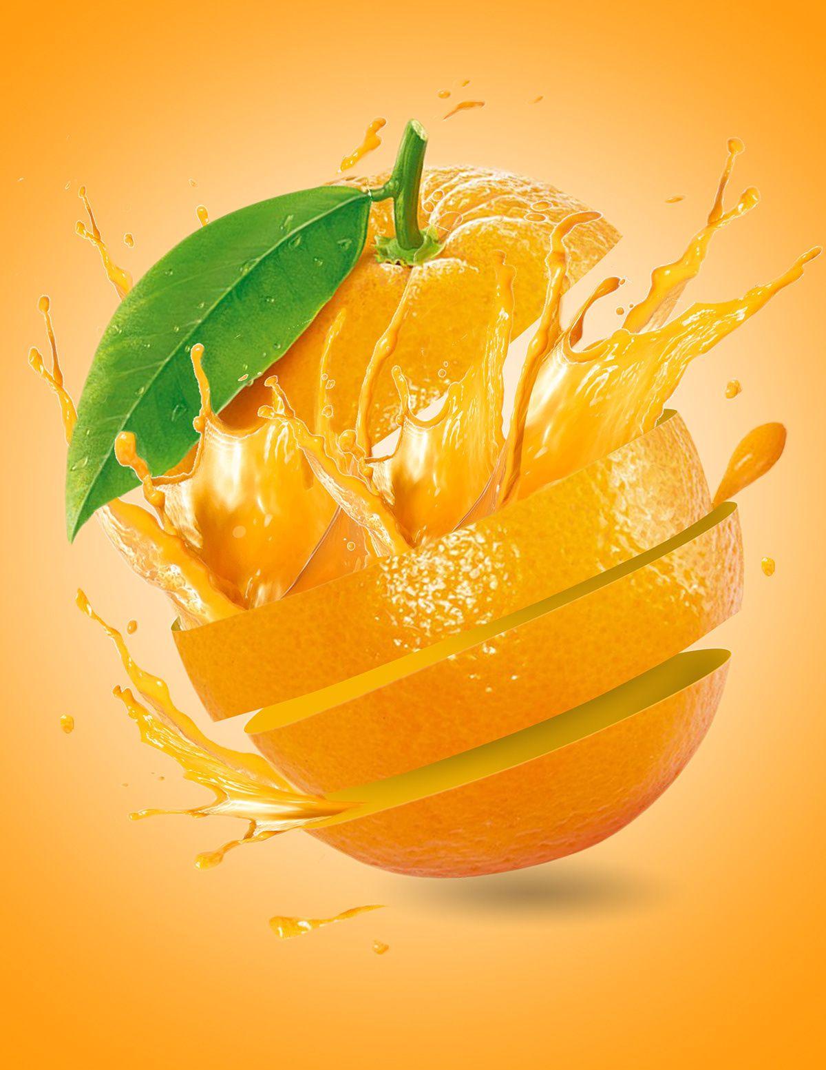 Fruit Splash On Behance Fruit Splash Fruit Logo Design Fruit Picture
